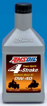 AMSOIL Formula 4-Stroke® 0W-40 Synthetic Motor Oil